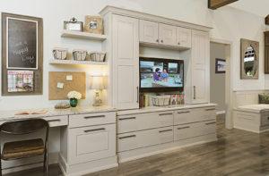 Cabinet Wholesaler office area design.