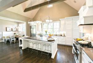 Wellborn Bishop kitchen and dining area.