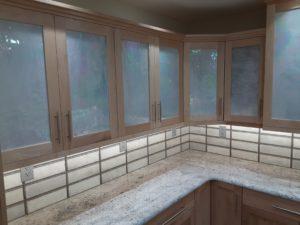 Wellborn Bristol 1 kitchen counter cabinets.