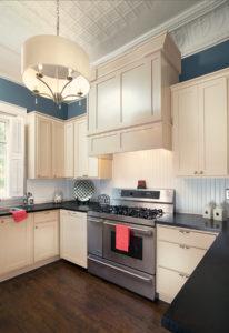 Wellborn Franklin kitchen area.