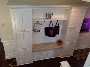 Wellborn Mudroom 3 clothes and bags cabinet.